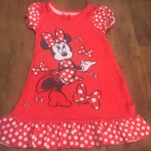 Girls Disney Minnie Mouse Night gown